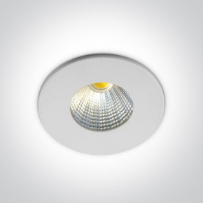 10103B/W/C Spot Incastrat Fix, Cob Led 1W/3W, IP20, Diametru 42mm x Adancime 35mm