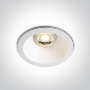 10109F/W Spot Incastrat Fix, GU10, Dark Light, IP65, Diametru 85mm x Adancime  124mm