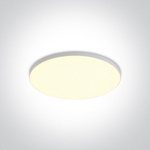 10110CE/C Led Panel Semiincastrat, 10W, Diametru 120mm