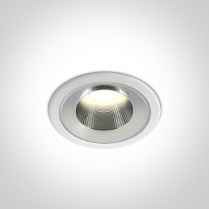 10110TD/W/C Downlight Led Incastrat,Fix, 10W, IP54, Diametru 115mm x Adancime 67mm