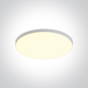 10120CE/W Led Panel Semiincastrat, 20W, Diametru 200mm