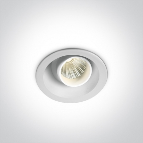 11103K/W/W Spot Incastrat Orientabil, Cob Led, 3W, Dark Light, IP20, Diametru 52mm x Adancime 52mm