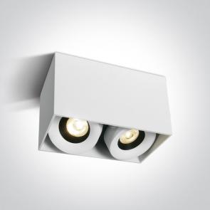 12208XA Spot aplicat orientabil, 2x8W, IP20