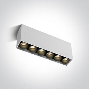 12606C/W/W Spot Aplicat Fix Led, 15W, Dark Light, IP20, Lungime 185mm x Latime 35mm x Inaltime 84mm