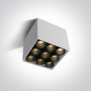 12906C/W/W Spot Aplicat Led, 20W, Dark Light, IP20, Lungime 95mm x Latime 95mm x Inaltime 84mm