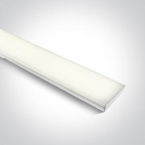 38148N/C, Profil liniar led, Aplicat, 48W, Dimensiuni 1200mm (L) x 120mm (l) x 40mm (h)