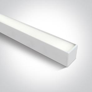 38160A/W/C, Profil linear Led Aplicat/Suspendat, 40W, UGR19, Dimensiuni 1200mm (L) x 75mm (l) x 75mm (h)