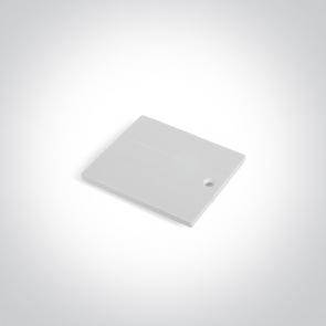 41004B/W Capac pentru alimentare de capat sina trifazata41004A, Dimensiuni 64mm(L) x 56mm(l)