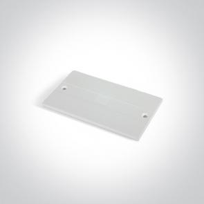 41008B/W Capac pentru alimentare de mijloc sina trifazata41010A, Dimensiuni 100mm(L) x 56mm(l)