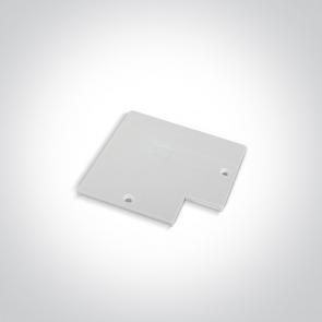 410012B/W Capac pentru Conector 90 grade sina trifazata41012A, Dimensiuni 78mm(L) x 78mm(l)