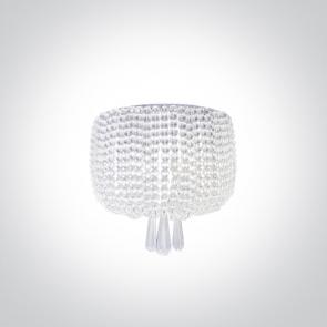 60162 Aplica Decorativa cu Cristale, G9, 2x9W, IP20, Diametru 250mm x Inaltime 240mm