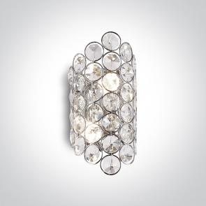 60176 Aplica Decorativa cu Cristale, G9, 2x9W, IP20, Latime 100mm x Inaltime 210mm