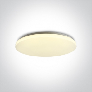 62026D/W/W Plafoniera Led Slim, 50W, IP20, Diametru 535mm x Grosime 75mm