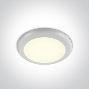 62116F/W/C Led Panel Semiincastrat, 16W, Diametru 235mm