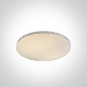 62146/W/W Plafoniera Led Slim, 55W, IP20, Diametru 550mm x Grosime 75mm