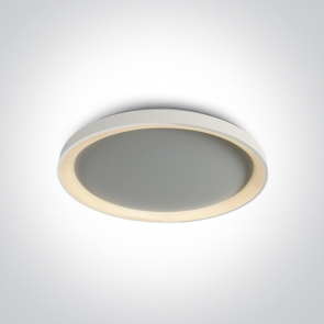 62148L/W/W Plafoniera Led, 48W, IP20, Diametru 580mm x Grosime 57mm