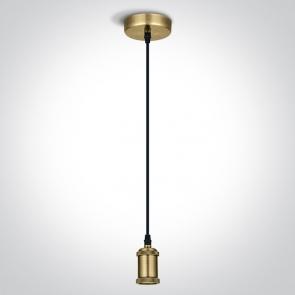 63128/BBS Pendul E27, 20W, IP20, Diametru 100mm X Inaltime 2000mm