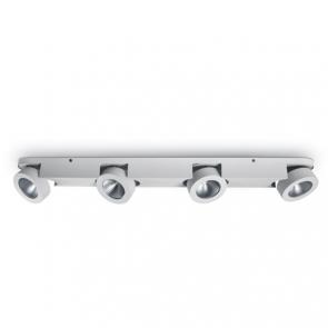 65110D Spot aplicat orientabil 4x10W, IP20