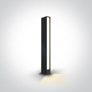 67460A Stalpisor Metalic, Led, 8W, 350mA, IP54, 100mm (L) x 50mm (l) x 600mm (H)