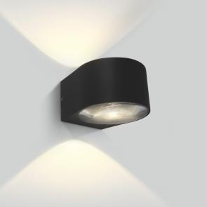 67480B Aplica Led , 2x6W, Dark light, IP65, IK06, 122mm(L) x 107mm(l) x 76mm(h)