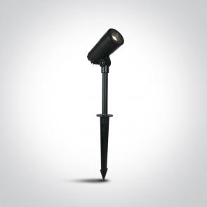 67482/AN/W Proiector Vegetatie Zoomabil, 11W, IP65, Diametru 70mm x Inaltime 130mm