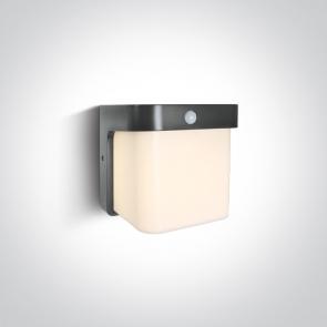 67492P Aplica Led cu senzor de miscare, 12W, IP54, 170mm(L) x 140mm(l) x 170mm(h)