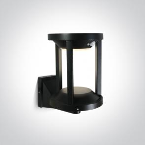67496/B/EW Aplica Solara Led Exterior, Senzor de miscare, 2W, IP65, Diametru 160mm x Inaltime 237mm