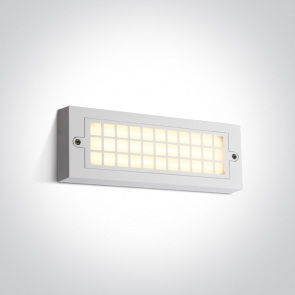 67502C/W/W Aplica Led, 6W, IP65, Lungime 255mm x Latime 90mm x Grosime 30mm