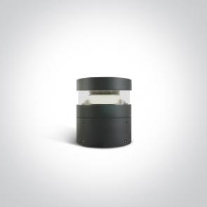 67510/AN/C Stalpisor Led Exterior, 20W, IP65, IK10, Diametru 160mm x Inaltime 200mm