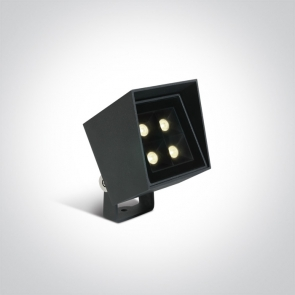 67514/AN/W Proiector Vegetatie Orientabil, 6W, IP65, IK07, Lungime100mm x Latime 80mm x Inaltime 110mm