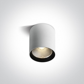 67516A/W/W Cilindru Led Aplicat Fix, 15W, Dark Light, IP65, Diametru 83mm x Inaltime 127mm