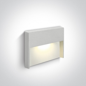 68052/W/W Spot de Veghe Incastrat, 4W, Dark Light, IP65,  Lungime 110mm x Latime 80mm x Adancime 85mm