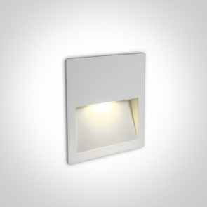 68068A/W/W Spot de Veghe Incastrat, 3W, Dark Light, IP65, Lungime 115mm x Latime 115mm x Grosime 35mm