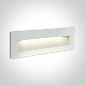 68068C/W/W  Spot de Veghe Incastrat, 6W, Dark Light, IP65, Lungime 225mm x Latime 75mm x Grosime 55mm