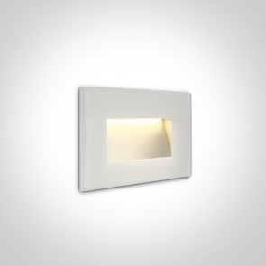 68076/W/W Spot de Veghe Incastrat, 4W, Dark Light, IP65, Lungime 120mm x Latime 80mm x Grosime 36mm