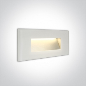 68076A/W/W Spot de Veghe Incastrat, 5W, Dark Light, IP65, Lungime 190mm x Latime 80mm x Grosime 36mm