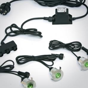 69003/GR Proiectoare Incastrate Pardoseala UP Light, Incastrat , IP67, Led 3x0.5W, Diametru 40mm x Adancime 40mm