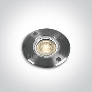 69006G Proiector Pardoseala Incastrat, GU10, UP LIGHT, 35W, IP67, Lungime 106mm x Latime 106mm x Adancime 115mm