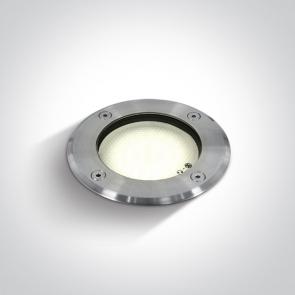 69006 Proiector Pardoseala Incastrat, GX53, UP LIGHT, 9W, IP67, Diametru 120mm x Adancime 75mm