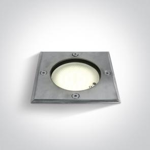 69008 Proiector Pardoseala Incastrat, GX53, UP LIGHT, 9W, IP67, Lungime 122mm x Latime 12mm x Adancime 75mm