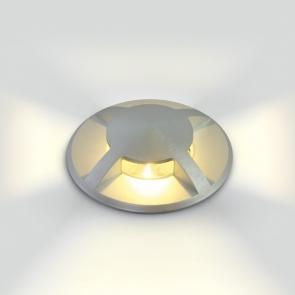 69016A/W Proiector Pardoseala, Incastrat, Led, 3W, IP67, IK10, Diametru 88mm x Adancime 105mm