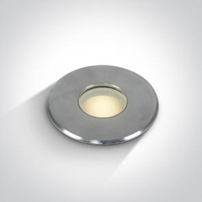 69028/W Proiector Pardoseala Incastrat, Led, 2W, IP67, Diametru 55mm x Adancime 100mm