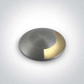 69042A/AL/W Proiector Pardoseala, Incastrat, Dimmabil, Led, 1W, IP67, IK08, Diametru 37mm x Adancime 53mm