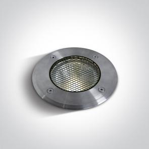 69050/W Proiector Pardoseala Incastrat, Led, UP LIGHT, Dimmabil, 20W, IP67, IK10, Diametru 145mm x Adancime 140mm