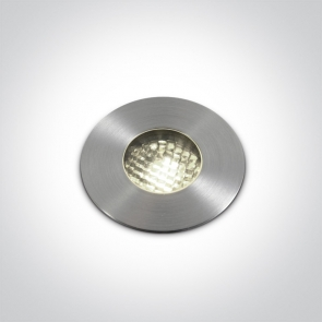 69052/C Proiector Pardoseala UP Light, Incastrat , IP67, IK08, Cob Led 3W, Diametru 62mm x Adancime 55mm