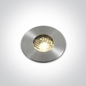69052/W Proiector Pardoseala Incastrat, HONEYCOMB, Led, 3W, IP67, IK08, Diametru 62mm x Adancime 55mm