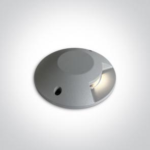 69058A/G/W Proiector Led pardoseala, Up Light, 6W, IP67, IK10, Diametru 200m x 42 inaltime