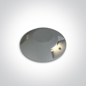 69058B/G/W Proiector Led pardoseala, Up Light, 2x6W, IP67, IK10, Diametru 200m x 42 inaltime