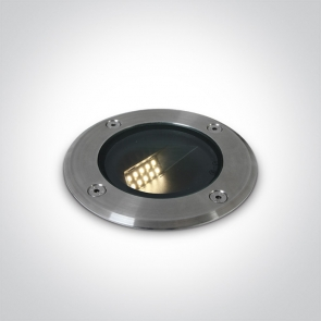 69062/W Proiector Pardoseala UP Light, Incastrat , IP67, IK08 Cob Led 8W, Diametru 120mm x Adancime 150mm
