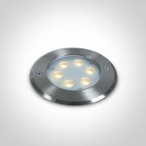 69066B/C Proiector Led Subacvatic Incastrat, Dimmabil, 6x1W, IP68, Diametru 150mm x Adancime 75mm